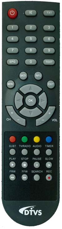 Remote Control for DTVS-DSR1