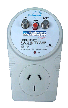 Plug in TV Amp